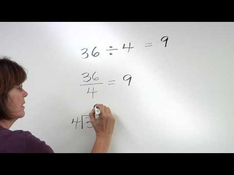 how to solve division problems step by step