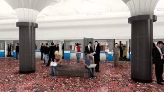 "Станция метро ""Котельники"" 3D"
