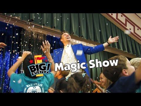 Big Event Magic Show | Best School Fundraising Incentive Idea