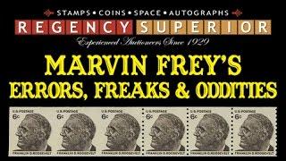 Marvin Frey's Errors, Freaks & Oddities Collection