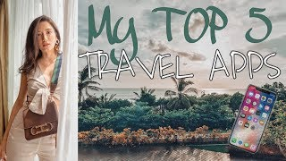 Top 5 Travel Apps 2019 | Nicole Andersson