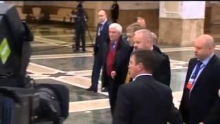 Путин покинул переговоры в «нормандском формате» 12 02 2015