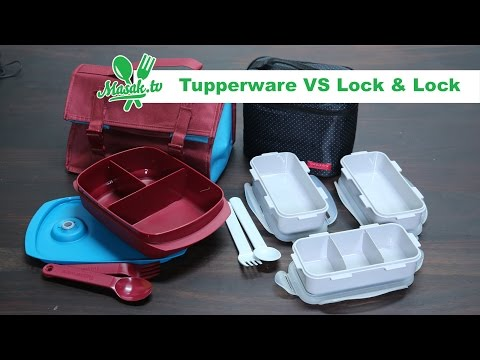 Tupperware VS Lock N Lock | Review #001