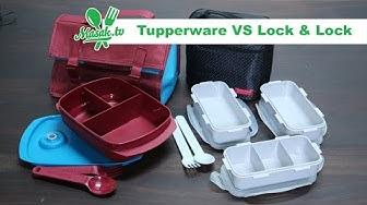 Tupperware VS Lock N Lock | Review #001