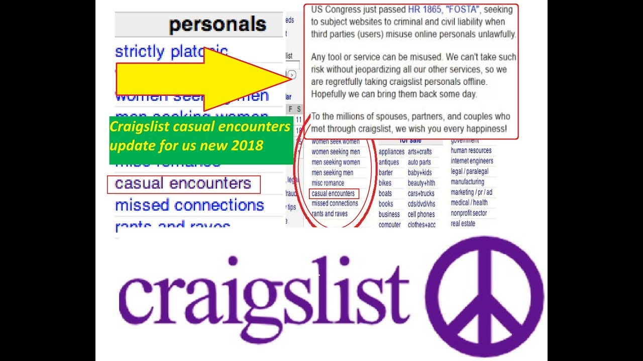 Casual encounter websites like craigslist