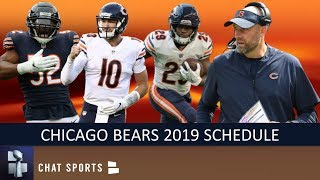 Bears 2019 Schedule: Breaking Down Opponents, Game Previews & Predictions For Regular Season
