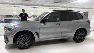 The 2020 BMW X5M Competition Is a 600-Horsepower Super SUV