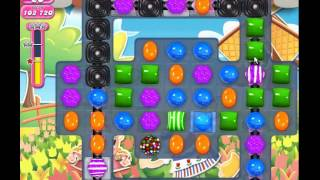 Candy Crush Saga level 605 (3 star, No boosters)