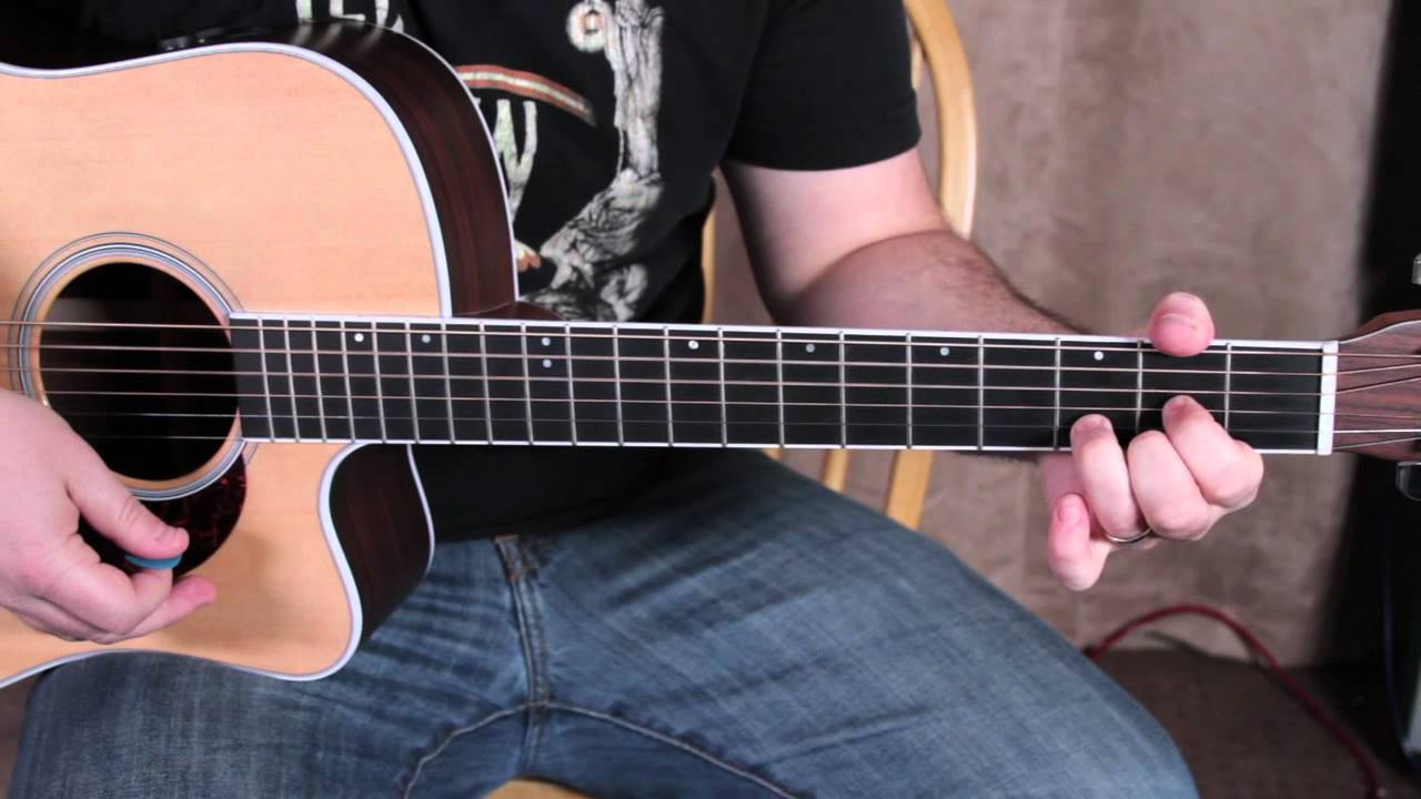 Led Zeppelin - Tangerine - How to Play on Acoustic Guitar - Acoustic Songs - Jimmy Page