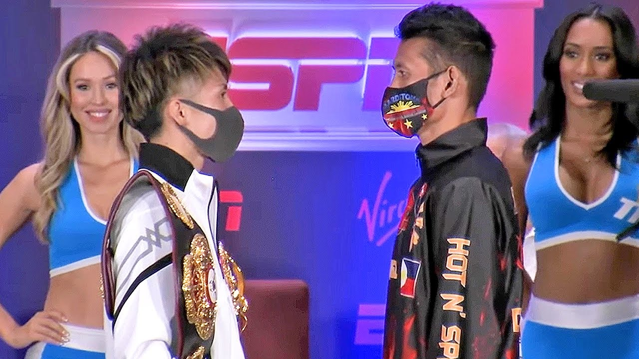 THE MONSTER RETURNS! NAOYA INOUE FACES OFF WITH MICHAEL DASMARINAS AT FINAL PRESS CONFERENCE!