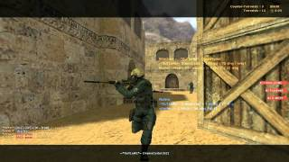 C-NOTE plays Counter-Strike 1.6 (HD, Complete)