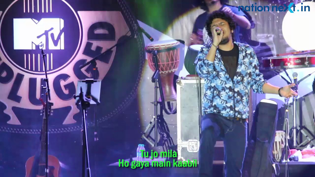 Tu Jo Mila: Papon Live at Royal Stag Barrel Select MTV Unplugged Season 6  in Nagpur