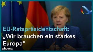 140. plenarsitzung des europäischen ausschuss der regionen mit debatte zur deutschen eu-ratspräsidentschaft u.a. einem statement von bundeskanzlerin ...