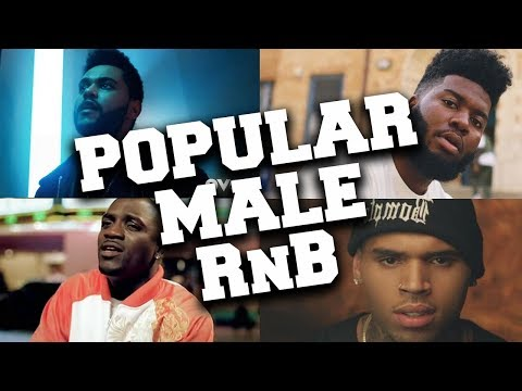 Top 50 Most Viewed Male R&B Songs of All Time (Updated in April 2020)