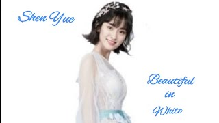 Shen Yue - So Beautiful In White