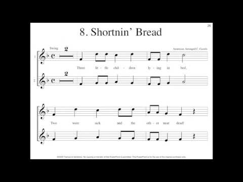 Favorite Folk Songs for Recorder: Shortnin Bread Sample