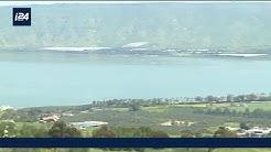 REPORTAGE | Le niveau de l'eau du lac de Tibériade remonte