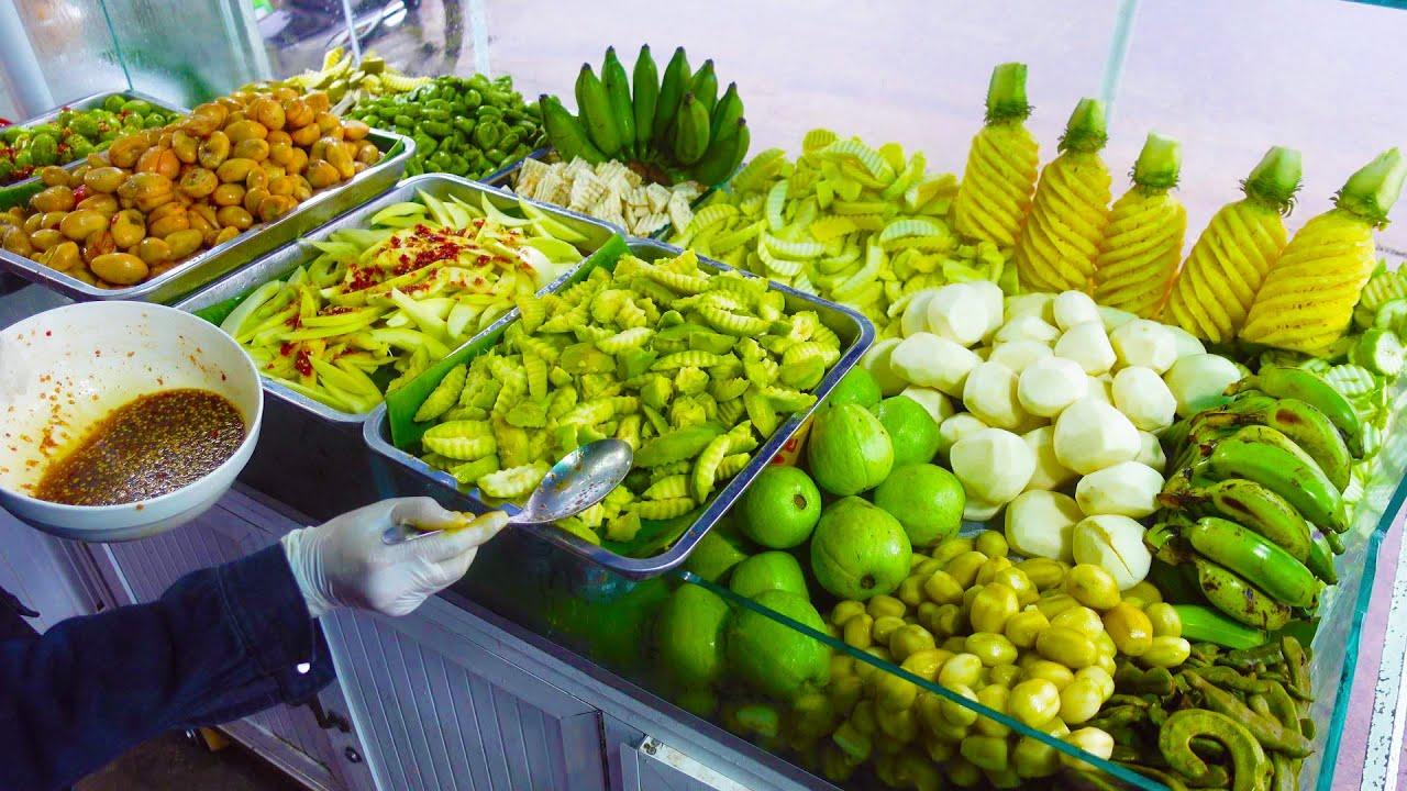 Til Midnight!! 500Kg Of Fruits Sold Out Per Day!! Khmer Popular Fruit Salad - Cambodian Street Food
