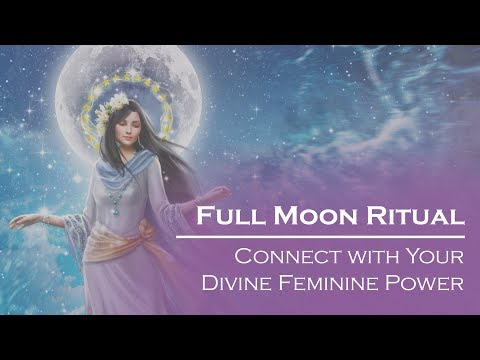 Israeli Full Moon Ritual: Connect with Your Divine Feminine Power