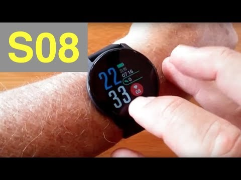 SENBONO S08 IP68 Waterproof Multi-Function Blood Pressure Sports Smartwatch: Unboxing And 1st Look