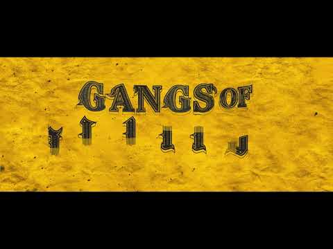 Gangs of Madras - Moviebuff Motion Poster |  Directed by CV Kumar