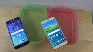 Samsung Galaxy S6 vs. Samsung Galaxy S5 - Water Test Will It Survive?