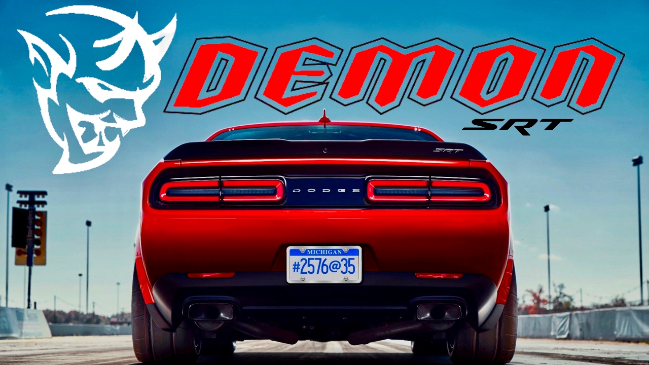 2018 Dodge Demon: NEWS UPDATE (Hidden Clues & Horsepower Revealed) - YouTube