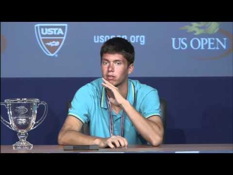 2011 US Open Press Conferences: Oliver Golding (Juniors)