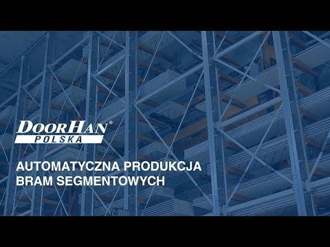 DOORHAN Polska: Automatyczna produkcja bram segmentowych