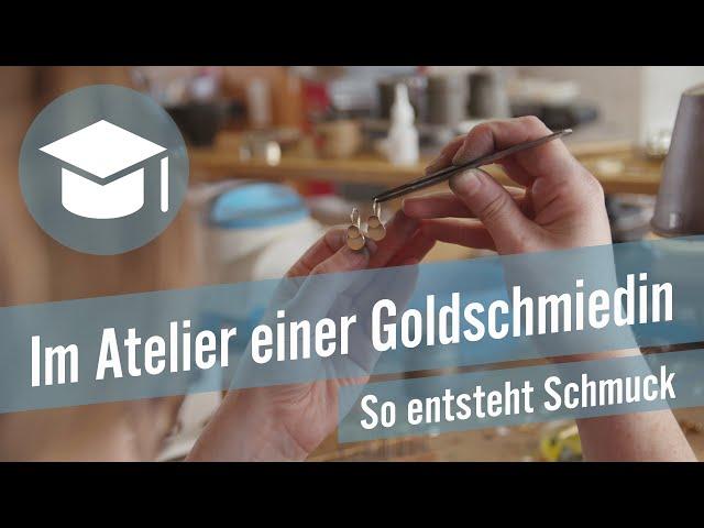Im Atelier einer Goldschmiedin