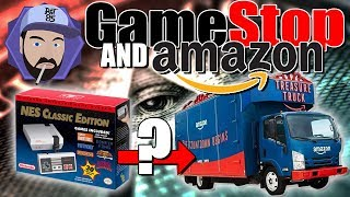 NES Classic Mini: Amazon Truck, GameStop, Warehouses, and Illuminati | RGT 85