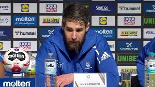 20190120 IHF Iceland vs France PressConference