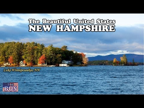 USA New Hampshire State Symbols/Beautiful Places/Song OLD NEW HAMPSHIRE w/lyrics