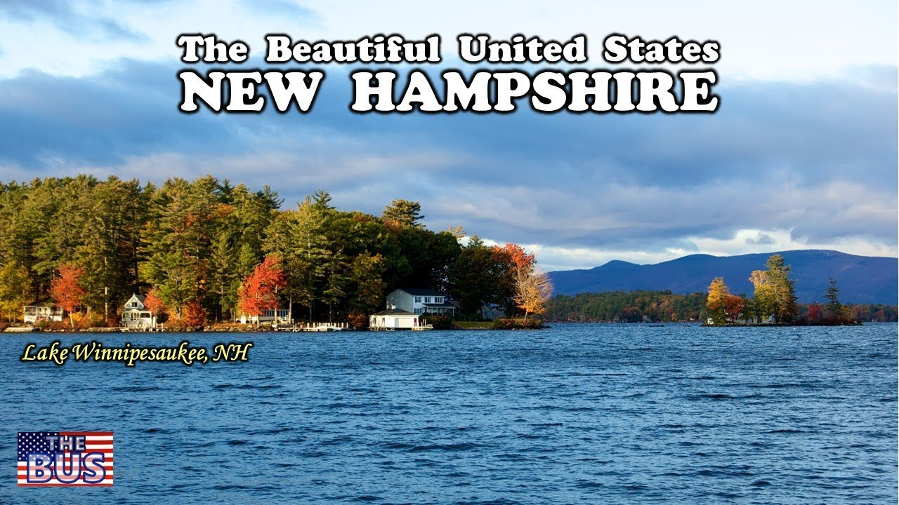 Usa New Hampshire State Symbolsbeautiful Placessong Old New