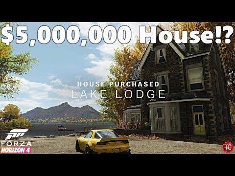 Forza Horizon 4: Let's Play - MY NEW 5,000,000 CR LAKE HOUSE!