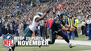 Top 25 Plays of November! | 2016 NFL Highlights