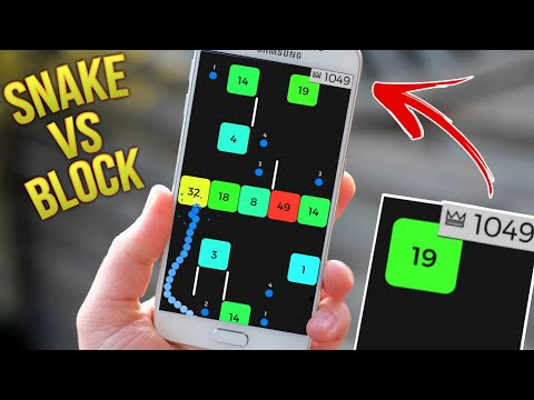 Snake Vs Block | How To Play & Score Over 1000 For Beginners | No Hack Walkthrough & Funny Gameplay