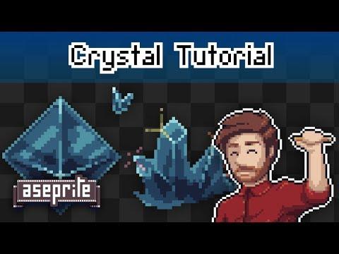 Pixel Art Diamond / Crystal Tutorial [ Stream Highlight ] thumbnail