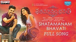 Download Hindi Video Songs - Shatamanam Bhavati Full Song  | Sharwanand, Anupama, Mickey J Meyer