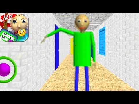 Baldi Best Easy Math: Education & learning in school 2 / Android Gameplay HD