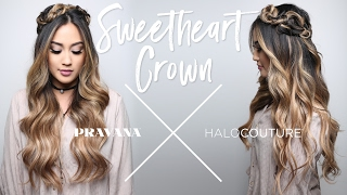 PRAVANA x HALOCOUTURE | Sweetheart Crown Braid How-To