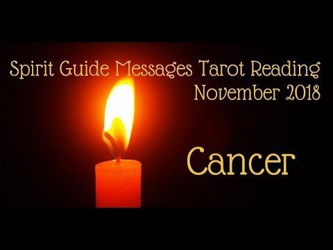 Cancer *Test of Faith brings rewards!* ~ November 2018