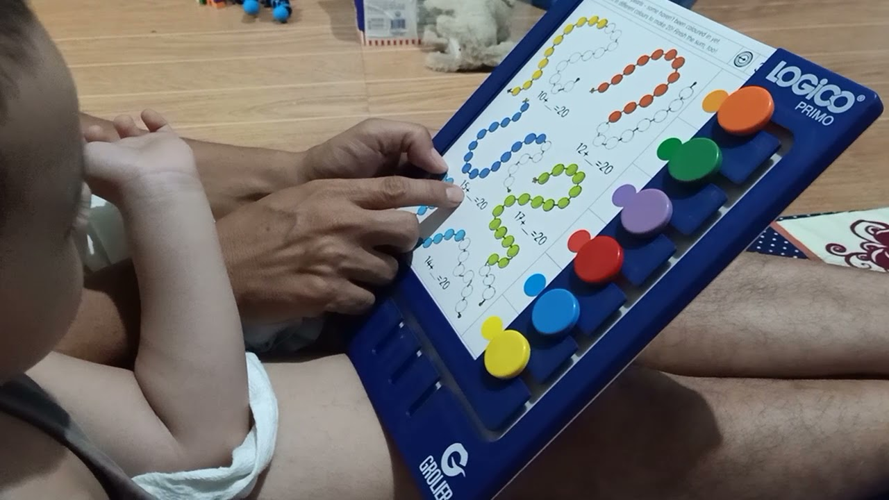 3 YEARS OLD BABY KNOWS HOW TO ADD BASIC NUMBERS