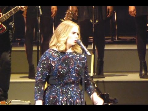 Adele - FUNNY - Talking About A Show At The Dutch Television - June 6, 2016 - Ziggo Dome