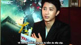 [HappyE.L.F Vietsub][110613] Han Geng interview @ Shanghai International Film Festival[Suju-Elf.com]