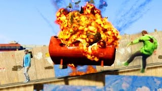 WORLDS BIGGEST EXPLOSION! GTA 5 FUNNY MOMENTS (GTA 5)