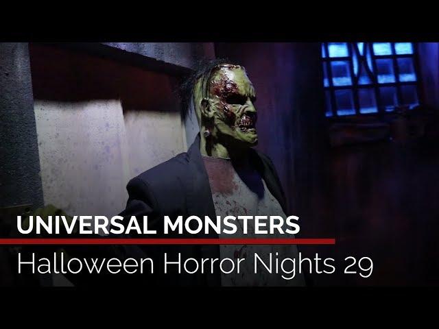 Universal Monsters Highlights Halloween Horror Nights 29 At Universal Orlando Youtube