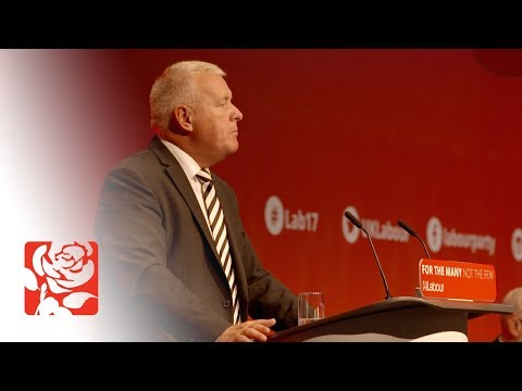 Ian Lavery's Speech to Labour Conference