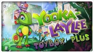 YOOKA-LAYLEE - Toybox Plus Demo! 100% Gameplay mit 100 Quills & Secrets