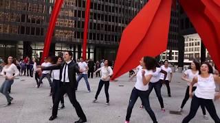 Hashem Melech - Flash Mob - Elliot Dvorin | Key Tov Orchestra